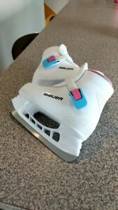 Girl Bauer Skates - Size 12-13 Youth