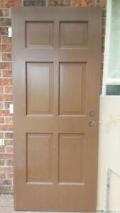 Pure Wood Front Door!