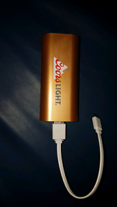 Coors light portable charger