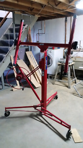 Drywall kit/jack/hoist for rent
