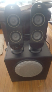 Logitech speakers with subwoofer