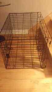 Cage pour chien grandeur moyenne