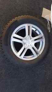 Studded winter tires on rims (set of 4) St. John's Newfoundland image 1