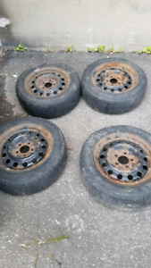 195/65/15 tires with rims
