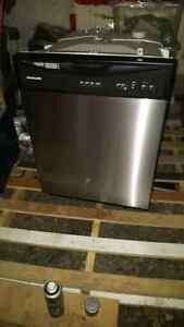 frigidaire stainless steal dishwasher