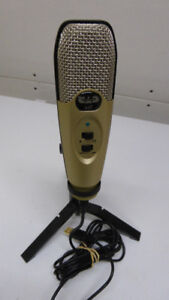USB MICROPHONE AND POP SCREEN