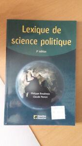 lexique de science politique 2e édition