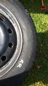 215/60/16 Saxxon Studded Winter Tires and Rims