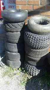 package deal of golf cart & atv rims/tires