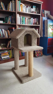 Cat Play House, Litter Box, Scratching Post