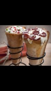Electric pizza cone oven and moulder