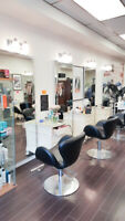 Hair Salon Chair For Rent or Commission - GREAT Location!