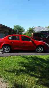 2007 Pontiac G5 Red