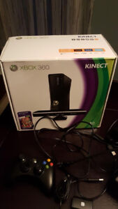 Xbox Kinect system with three games