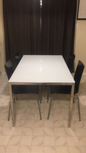 Dinning Table and Chairs - TORSBY IKEA