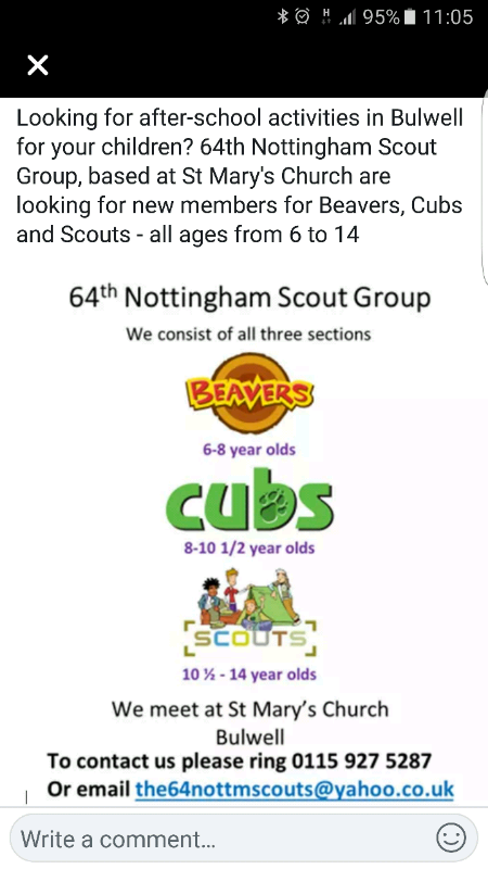 Beavers Cubs Scouts | in Bulwell, Nottinghamshire | Gumtree