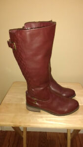 Ladies high rise boots