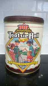 100th Anniversary Limited Edition Tootsie Roll Tin Can