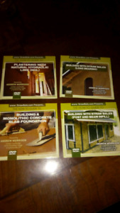Straw bale house building - How To DVD set
