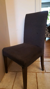 Ikea Henriksdal Parsons Dining Chairs (4 total)