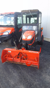 2012 Kubota BX2660 Tractor with Front Mount Blower