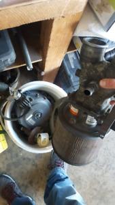 7.5L Ford 460 propane setup