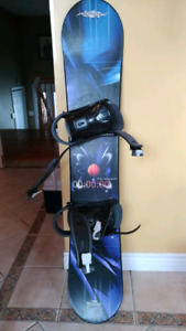 Snowboard, rarely used