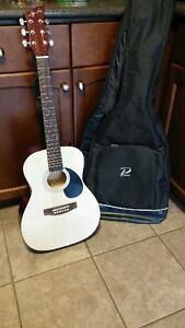 Acoustic Guitar with Case Cambridge Kitchener Area image 1