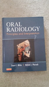 Textbook: Oral Radiology $20