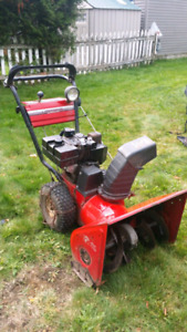 Snow blowers wanted