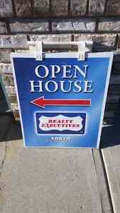 Open House and Sign Posts Strathcona County Edmonton Area image 3