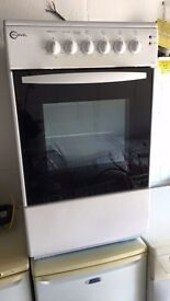 White Flavel 50cm Electric Cooker Vgc Just £65 Sittingbourne