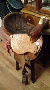 "14.5 "" Barrell Saddle"