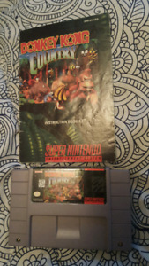 Donkey Kong Country 1 and 2 + Manuals