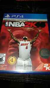 PS4 Mint NBA 2K 14 mint  $7$  Windsor Region Ontario image 1