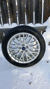 Winter Tires on Ford rims