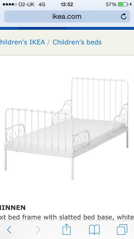 Ikea Minnen Single Extendable Bed Buy Sale And Trade Ads