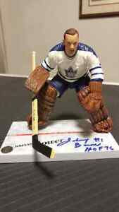 Johnny Bower Autographed McFarlane London Ontario image 1