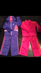 3 GIRL's ADIDAS OUTFITS IN EXCELLENT CONDITION ALL 3 FOR $40
