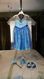 Elsa Costume with doll