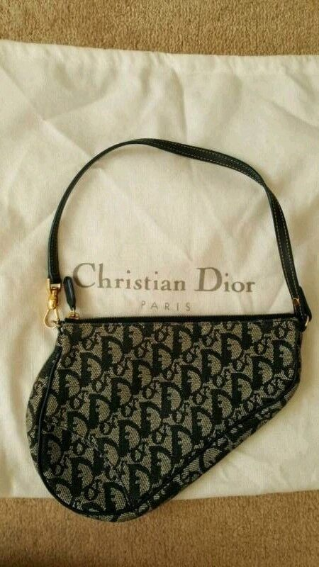 Christian DIOR Saddle bag - used   in Finchley, London   Gumtree 632be95364