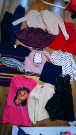 Girls clothes bundle aged 9-10 years