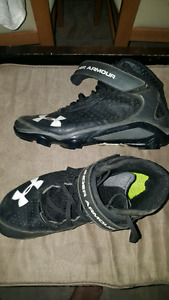 Under armour cleats.