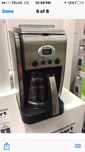 FOR SALE: CUISINART COFFEE MAKERS