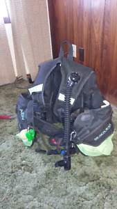 Getting out of scuba diving, lots of equipment