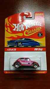 HOT WHEELS CLASSICS VW BUG PINK #25 OF 25