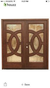Wood Exterior door for sale