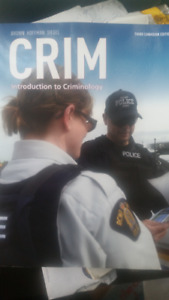 CRIM - Introduction to criminology - 3rd Canadian edition