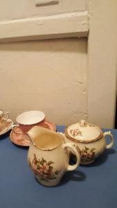 Beautiful Bone China tea cups and saucers