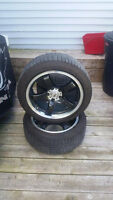 17 inch dai alloy wheels with tires